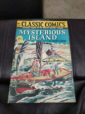 Classic Comics #34 Mysterious Islands