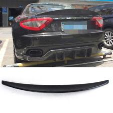 Für Maserati GranTurismo Coupe Schwarz Heckspoiler Heckflügel Hecklippe 2012-14