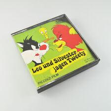 Leo und Silvester jagen Tweety - Super 8 mm - Piccolo Film - Tonfilm - 45m - s/w