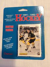1991-1992 Upper Deck Boston Bruins Team Set Blisterpack