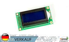 802 8x2Zeichen LCD Display Modul blaues BL HD44780-Komp für Arduino Raspberry Pi