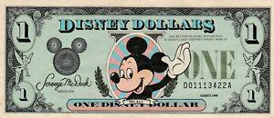 Disney Dollar 1988 $1.00