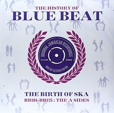 THE HISTORY OF BLUE BEAT THE BIRTH OF SKA BB 101 - BB 125 A SIDES, 2 LP GATEFOLD