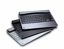 "Bluetooth Keyboard for 9.7""iPad Air Slot in type,Metal/Aluminum/Plastic grey M13"