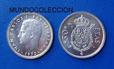 MONEDA DE 50 PESETAS 1975 *76 Juan Carlos I  S/C - SPAIN km#809 UNC