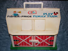 VINTAGE 1967 FISHER PRICE PLAY FAMILY FARM TOY