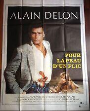 Affiche cinéma originale Pour la peau d'un flic  format 120 x 160 Alain Delon