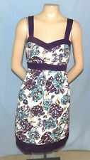 Awesome & Chic  Motherhood Cotton Tie-Back Maternity Dress Size Medium (Est 8/10
