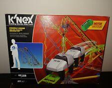 Knex Double Doom Roller Coaster Building Set 891 Pc 55402. Factory Sealed!