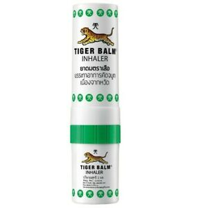 Tiger Balm 2 in 1 Nasal Inhaler & Oil, Eucalyptus Menthol Relief  Congestion