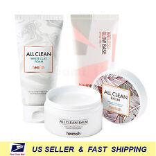 [ heimish ] All Clean White Clay Foam +All Clean Balm 120ml +Artless Glow Base