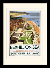 Bexhill On Sea Southern Railway Framed & Mounted Print