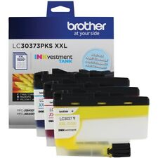 3-PK Genuine Brother LC3037-XXL Ink Cyan/Magenta/Yellow/ Color Combo Set