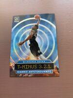2019-20 Panini - Donruss Optic Basketball: Giannis T-Minus 3.2.1 Holo Prizm