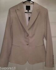 The Limited NWT Womens Light Brown Blazer Size 8