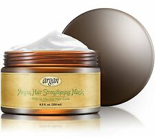 Moroccan Argan Hair Strengthening Deep Conditioner Mask Thin Fine Hair Care