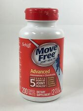 Schiff Move Free Advanced Glucosamine + Chondroitin 200 Tablets + FREE SHIPPING