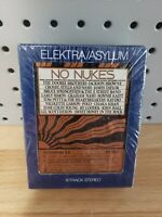 NO NUKES  8-Track Tapes. Part A & B Set September 19-23. Asylam 1979. NEW Sealed