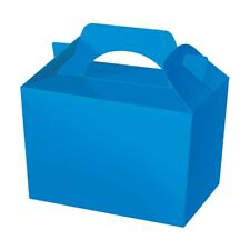 20 Royal Blue Party Boxes - Food Loot Lunch Cardboard Gift Wedding/kids