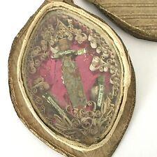 Reliquaire Ancien XVIIIè Saintes Reliques Martyrs St Theodore Paperolles 18thC