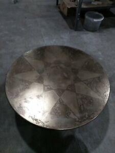 "Coffe table "" Вrass star"", brass table, metall table"