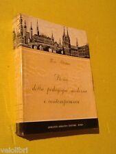 Blattner, Fritz - STORIA DELLA PEDAGOGIA MODERNA E CONTEMPORANEA. 1960, Armando