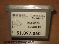 KIT FIXATION AILE AVANT FIAT SCUDO - 51097060