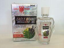 Eagle Brand Eucalyptus Medicated Oil 24 mL x 12 bottles Dau Trang Con O - 1 dz