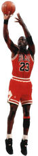 "Chicago BULLS NBA Superstar MICHAEL JORDAN ""Shoots""  - WindoCling Decal Stick-On"