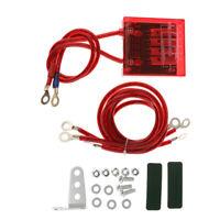 Practical Auto Car Fuel Saver Grounding Voltage Stabilizer Regulator Kit,Red