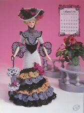 Annie's Attic Potter Fashion Bed Doll August Crochet Pattern 1996 Edwardian