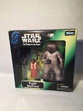Star wars el poder de la fuerza KABE Y Muftak-menta sin abrir en caja