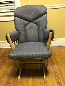 Beautiful Cloth Pillow Padded Rocking Chair