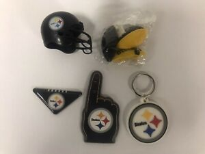 NFL Pittsburgh Steelers 5 Piece Fan Pack Party Favors Stocking Stuffers