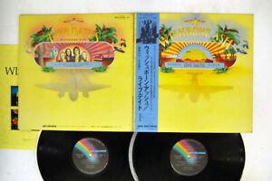WISHBONE ASH LIVE DATES MCA MCA-9244,5 Japan OBI VINYL 2LP