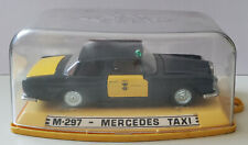 Pilen M-297 Mercedes Taxi, vintage toy car made in Spain