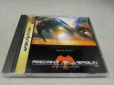 Radiant Silvergun Manual Wear Sega Saturn SS Japan Import F/S USED RARE