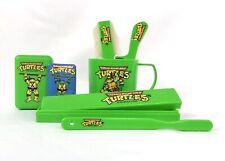 TMNT Teenage Mutant Ninja Turtle Vintage Bathroom Set 1989 - Cup, Soap, Etc.
