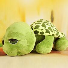 1 x Cute Big Eyes Green Tortoise Turtle Animal Baby Stuffed Plush Toy 20CM