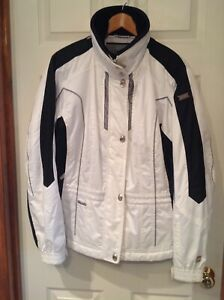 """Awesome Women's Spyder Ski Jacket """"Emerald"""" Size 14 in Excellent Used Condition!"""