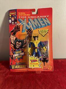 MOC Wolverine action figure Marvel X-Men X-Force Toybiz 1992 NEW Mint
