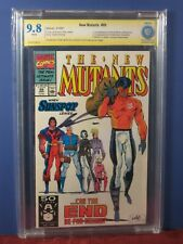 NEW MUTANTS #99  9.8 SIGNED Rob Liefeld 1st Shatterstar 1st Feral CBCS not cgc
