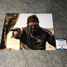 Tom Hardy signed auto 11x14 photo Mad Max Beckett BAS COA