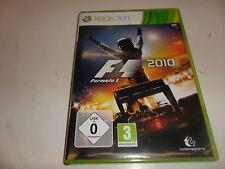 Xbox 360 f1 2010-Formula 1