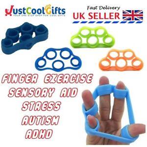 FINGER STRENGTH WRIST FITNESS EXERCISE RELAX STRESS ADHD SENSORY AID UK SELLER