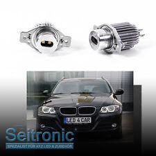 Seitronic® Led Angel Eyes für BMW E90 15 Watt - Standlicht Xenon-Look Weiß