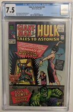Tales to Astonish 66,  CGC 7.5, Hulk + Giant man