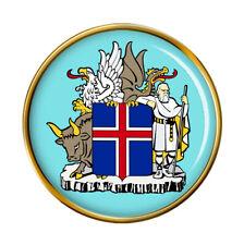 Islandesa Crest Pin Insignia