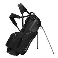 TaylorMade Flextech Stand Golf Bag - New 2021 - Black/Slate