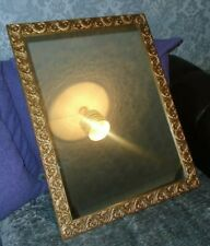 More details for large ornate gold framed mirror